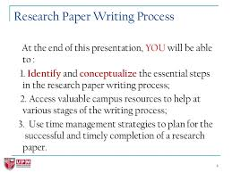 how to write great research papers 4 4 research paper writing
