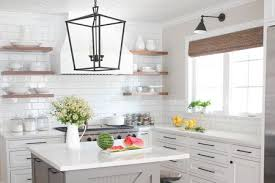 Modern farmhouse kitchen design Farm House Droolworthy Modern Farmhouse Kitchen Hero Kitchen Bath Design News White Modern Farmhouse Before And After Kitchen