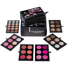 shany makeup kit. shany mini masterpiece makeup kit\u2013 shaping, highlighting and contouring palettes - box with shany kit