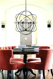 pillar candle chandelier round modern lighting rustic mas