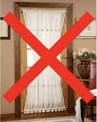 front door window treatmentsDG Style Front Door Window Treatment