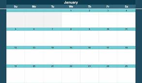 2020 2021 calendar templates monthly
