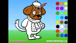 Small Picture Dog Coloring Pages YouTube