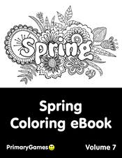 It makes for a great learning time too. Spring Coloring Pages Free Printable Pdf From Primarygames