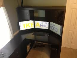 ikea office hacks. Ikea Computer Desk Hack Inspirational Expedit With Hutch Office Hacks