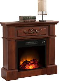 essential home cherry carlson electric fireplace spin prod wood fireplaces whalen gas insert twin star heater