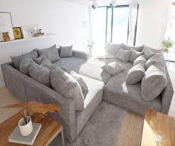 Sofa Clovis Erweiterbares Modulsofa Eckcouch Wohnlandschaft