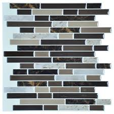 a17039 l and stick on wall tiles for kitchen backsplash set of 6