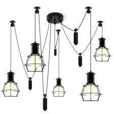 ceiling light cord spider pendant light led spider light black hanging lamp cord pendant lights pendant lamp contemporary hanging light cord set