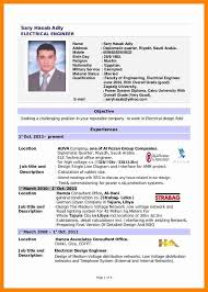 Sample Resume Format For Engineers Resume Format For Diploma In
