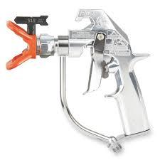 Spray Gun Light Attachment Silver Plus Airless Spray Gun 2 Finger Trigger Rac 5