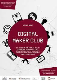 Club Flyer Maker Digital Maker Club Nerve Belfast 1