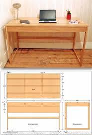 17 best ideas about desk plans on build a desk computer desk plans furniture plans and projects woodarchivist com