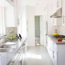 white galley kitchens. Brilliant White White Cottage Kitchen With Gray Countertop Tile Backsplash Galley Kitchens B