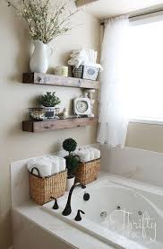 Bathroom shelves decor Wood Diy Floating Shelves Just Like The Ones From Fixer Upper Make Of These For About 10 Great Way To Add Farmhouse Charm To Any Room Pinterest Diy Floating Shelves And Bathroom Update For The Home Bathroom