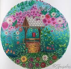 secret garden coloring book 2018 botanical gardens