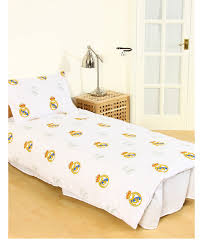 real madrid cf pulse single reversible duvet cover set