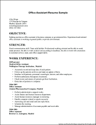 Best Sample Of Resume For Job Application – Eukutak