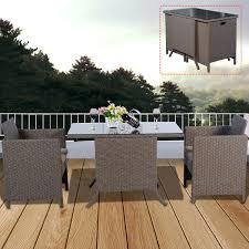 breakfast furniture sets. 3PC RATTAN GARDEN BISTRO SET CAFE TEA BREAKFAST CHAIR \u0026TABLE PATIO CUSHIONS Breakfast Furniture Sets I