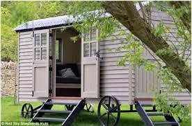 garden hut. David Cameron\u0027s Red Sky Shepherd Hut In His Cotswold Garden.Mr Cameron Was Apparently Delighted Garden O