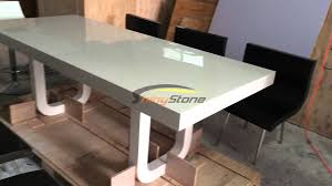 yellow office worktop marble office furniture corian. Perfect Corian Corian Artificial Stone Solid Surface Dining Table And Chairs In Yellow Office Worktop Marble Furniture Corian