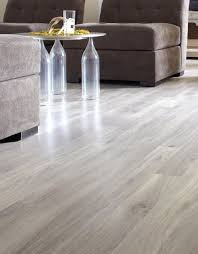 laminate floor in a dockside oak colour with a premium smooth lacquered finish