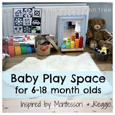 Baby Play Area Baby Place Space For 6 18 Months Inspired By Montessori And