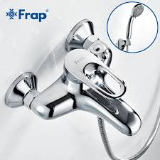frap complete sets silver bathroom shower faucets bathtub faucet mixer tap with hand shower sets brass f3204 f3201 f3256 from china dhgate
