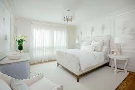 White Bedroom Cool Decorating