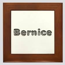 Name Bernice Wall Art - CafePress