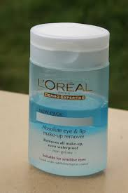 review l oreal absolute eye and lip make up remover