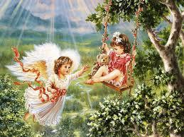 angel garden. Yorkshire_rose Wallpaper: Garden Angel P