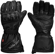 <b>Heated Motorcycle Gloves</b>,7.4V 2200MAH <b>Electric</b> Rechargeable ...