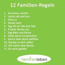 Schöne Sprüche Zum Nachdenken Familien Regeln Sprüche Familien
