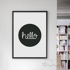 cartoon hello quote canvas art print wall pictures for home decoration painting poster frame not include fa201 in painting calligraphy from home  on quote wall art frames with cartoon hello quote canvas art print wall pictures for home