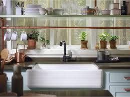 Kohler Brass Kitchen Faucet Faucetcom K 7505 Bl In Matte Black By Kohler
