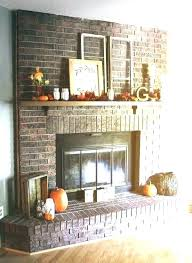 red brick fireplace ideas idea painted for mantels best painting mantel grey