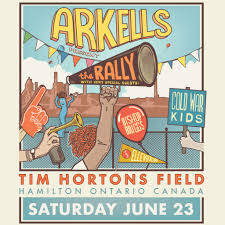 Tim Hortons Field Seating Chart Concert Arkells 107 5 Dave Rocks