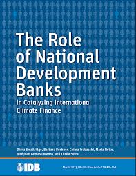 finance cover national development banks and international climate finance