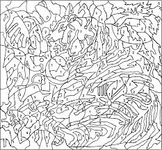 Small Picture Free Printable Color by Number Coloring Pages Best Coloring