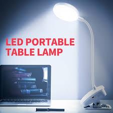Máy Tính Để Bàn LED USB Đèn LED Học Ánh Sáng 5V Đèn LED Di Động Đọc Chiếu  Sáng Có Thể Gập Lại Đèn Ngủ Trang Trí 3 màu Sắc Mờ