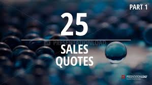 Sales Quotes Custom PresentationLoad Free PowerPoint Quotes Sales