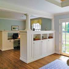Bedroom Partitions On Columned Room Divider Built In Storage Photos Storage  Living