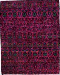 cyrus artisan indian sari silk rug