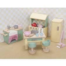 Dolls House Kitchen Furniture Daisylane Kitchen Le Toy Van Me059 Dolls House Furniture