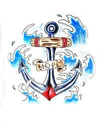 тритатушки архив блога эскизы тату якорь