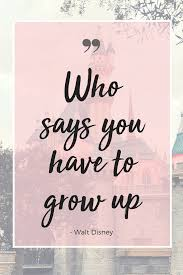 Inspirational Walt Disney Quotes Pink Proper Ish
