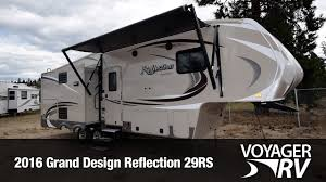 Grand Design Reflection 29rs Reviews 2016 Grand Design Reflection 29rs Fifth Wheel Video Review Voyager Rv