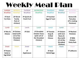 Week Meal Plans Magdalene Project Org
