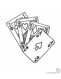 Disegno Carte Da Gioco Disegni Da Colorare E Stampare Gratis Per